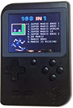 JVSISM Retro Portable Handheld Game Console Players 3.0 8 Bit Classic Video Handheld Game Console Black