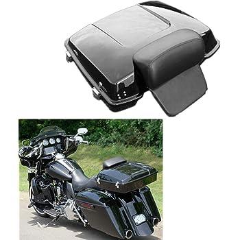 Autoshoppingcenter Rear Trunk Mount Rack for Harley Touring 1997-2008 KING Tour-Pak//RAZOR Tour-Pak//CHOPPED Tour-Pak 1996-2008