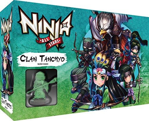Asmodee Ninja All-Stars – Extensión: Clan Tanchyo Juego de Mesa – Juego de Figuras