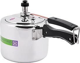 Royalford Rf6540 Aluminum Pressure Cooker - 3 Liters, Silver