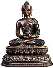 PPCP Amitabha Buddha Statue, Religious Buddhism Statue, Copper Figurine, Luck Figurine Buddha Sculpture, Feng Shui Crafts,...