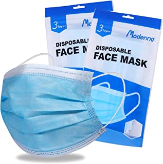 Modenna Face Mask Disposable Blue 25Pcs