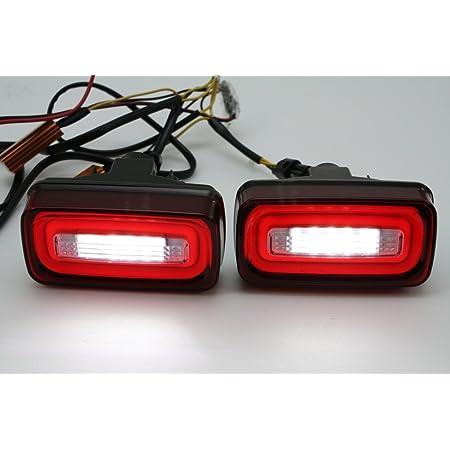 2 Led Rot Klar Nebelschlussleuchte Rückseite Licht Für 1986 1915 Mercedes Benz W463 G Auto