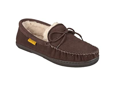 Vance Co. Genuine Sheepskin Moccasin Slipper