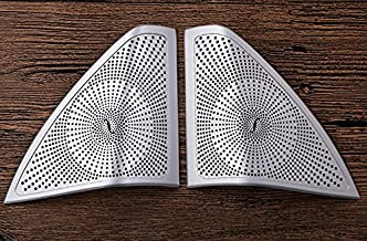 Herben For Mercedes Benz C Class W205 C180 C200 2015 2016 2017 Car Accessories Aluminum alloy Tweeters Speaker Cover Trim Sticker