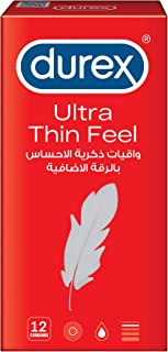 Durex Feel Thin ultra Condom - Pack of 12