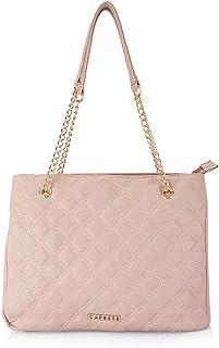 Caprese Womens Zipper Closure Tote Handbag