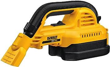 DEWALT 20V MAX* Cordless Vacuum Kit, Wet/Dry, Portable, 1/2-Gallon, Tool Only (DCV517B)