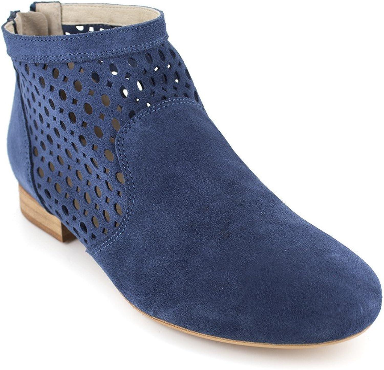 J.Bradford Boot bluee Leather JB-Amy