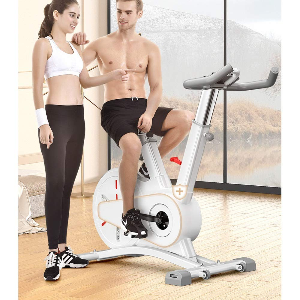 UNKB Controlado magnéticamente bicicleta de spinning cubierta de ...