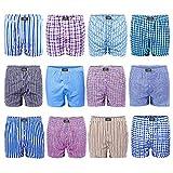 L&K Bóxer para Hombre Pack de 12, American Style 1403 M