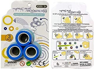 Magnetic Ring Toy Simple Enjoyable and Bracelet Unzip Props Tools Colorful Decompression Toys