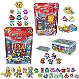 SuperThings Kazoom Kids - Blíster 10 Pack y Pack Sorpresa 20 Sets   Contiene Blister 10 Pack, Blister 6 Kazoom Slider, 15 Sobres One Pack, 3 Kazoom Kids y Lata Team Terrible  Juguetes para Niños