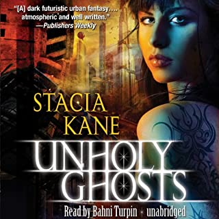 Unholy Ghosts audiobook cover art