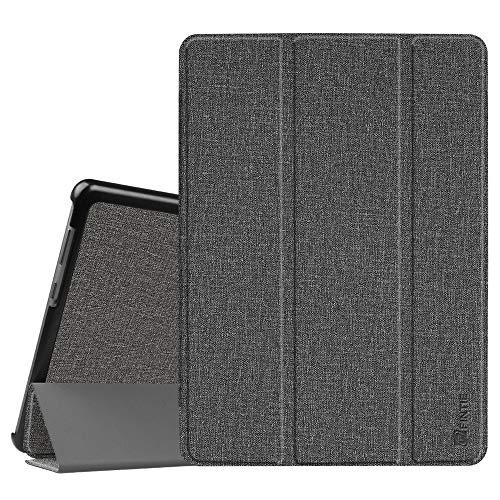 Fintie Hülle Hülle für Huawei Mediapad T3 10 - Ultra Dünn Superleicht Flip Schutzhülle mit Zwei Einstellbarem Standfunktion für Huawei MediaPad T3 (9,6 Zoll) 24,3 cm Tablet-PC, Jeansoptik Grau