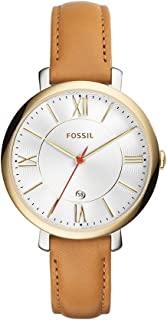 Fossil Casual Watch Analog Display Japanese Quartz For Women Es3737