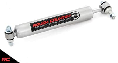 Rough Country 8732530 Stabilizer Single compatible w/ 1973-1991 Chevy GMC Trucks SUVs Premium Steering Damper