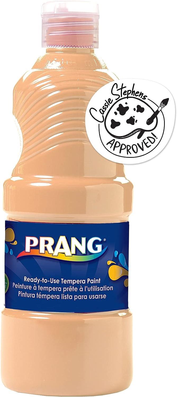 Prang Ready-to-Use Liquid Tempera Paint, 16-Ounce Bottle, Peach (21634)