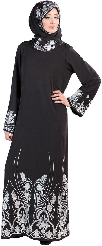Sairish Abaya Sequin (Set) Black