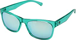 Emerald/Gray/Turquoise Mirror