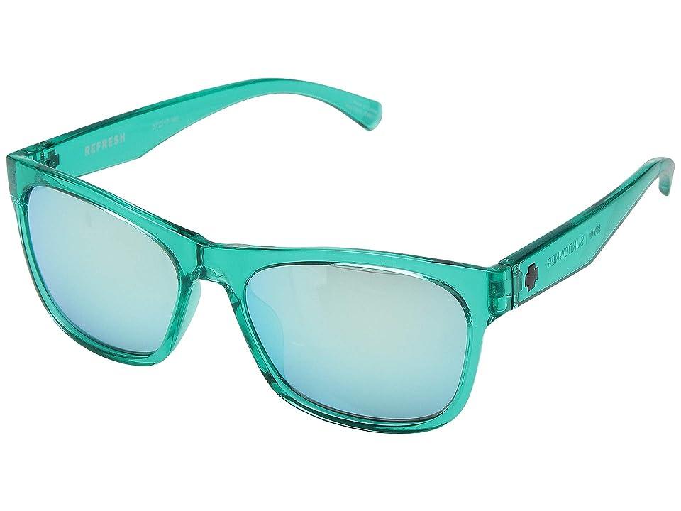 Spy Optic Sundowner (Emerald/Gray/Turquoise Mirror) Sport Sunglasses