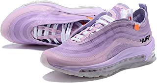 Skyland Air OFF97 Womens Air Cushion Casual Shoes Running Trainers (5.5US) Purple