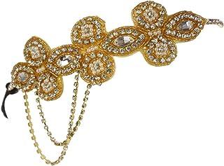 Ro Rox Bandeau Ann/ées 1920 de Great Gatsby Party Flapper de Noce Mariage Boho