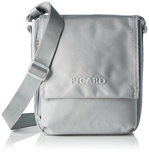 Picard Damen Hitec Umhängetasche, Silber (Silber), 11x27x23 cm
