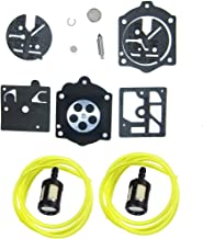 HQparts Carburetor Carb Repair Kit for Stihl 015 015AV 15AVE 015L HDC17 Carburetor K10-HDC Husqvarna 44 140S 240S 240SE 240SG 444 Chainsaw