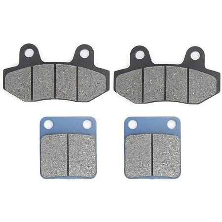 Yctze 4pcs plaquette de Frein, plaquette de Frein Avant et arrière Convient pour 50 90110125140150160 160cc Pit Dirt Bike