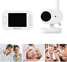 Surveillance Recorder Wireless Video Baby Monitor with 3.5Inch Wide Angle Lens 2 Way Audio Talk Night Vision Surveillance ...