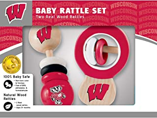 Wisconsin Wood Rattle Set