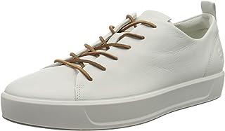 حذاء رياضي رجالي ناعم 8 Luxe من ECCO ، أبيض Dri-Tan, 46 (US رجالي 12-12. 5) M
