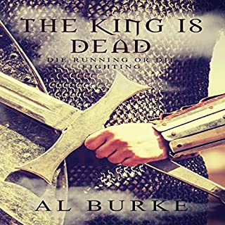The King Is Dead audiobook cover art