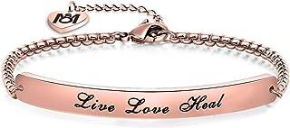 Nurse Gift Live Love Heal Bracelet RN Jewelry for Nursing Graduation Gift