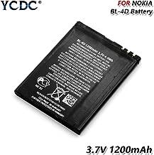 2PCS Replacement Battery,Original BL-4D BL 4D Battery for Nokia N97mini N8 N8-00 E5 E5-00 702T T7 E7 N5