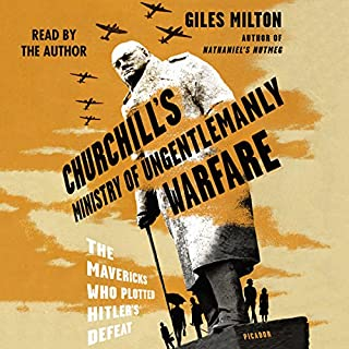Churchill's Ministry of Ungentlemanly Warfare audiobook cover art