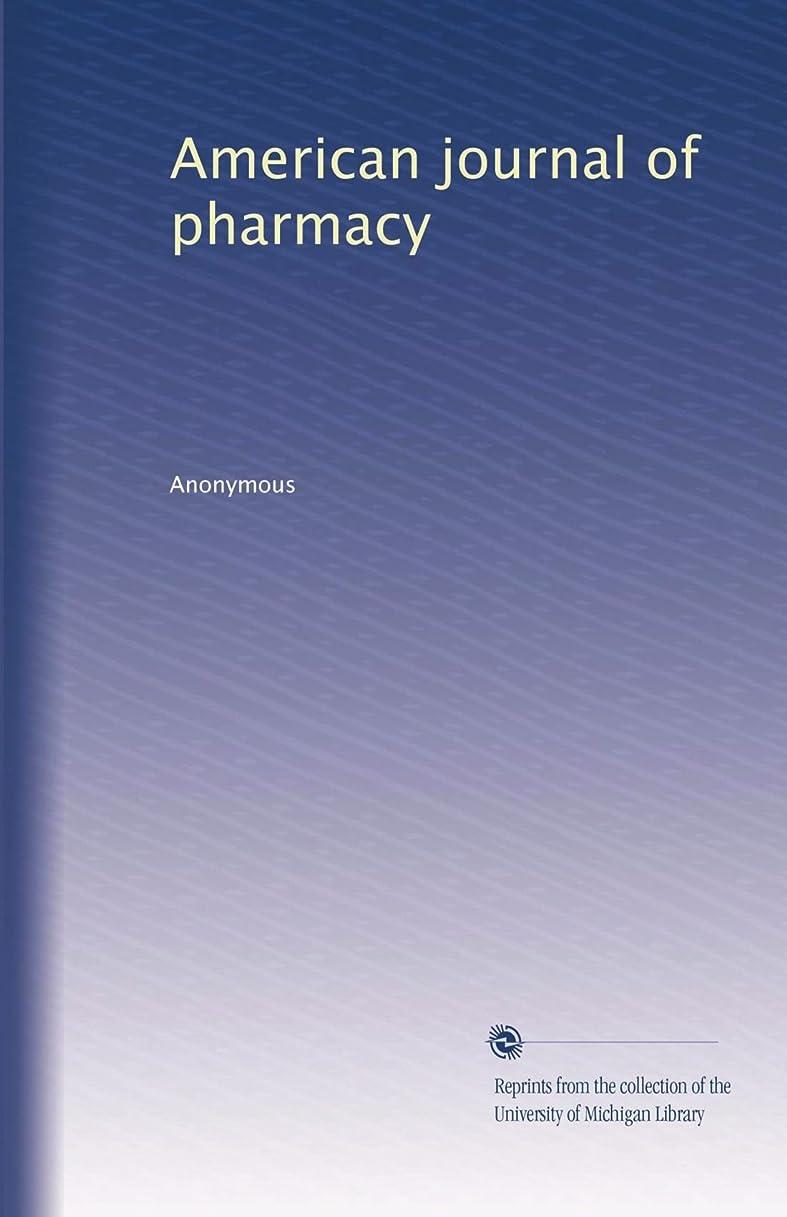 サイバースペースギャングオーストラリア人American journal of pharmacy (Vol.26)