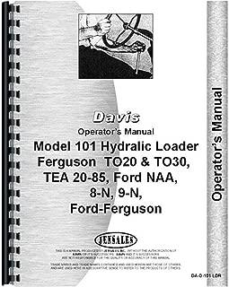 New Ford 9N Loader Operators Manual