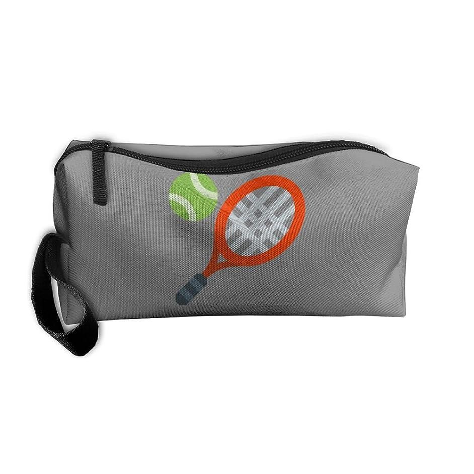 Tennis Racket Cosmetic Bag Travel Makeup Bag Organizer Beauty Bag Small Pouch