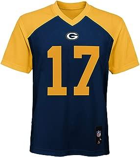Outerstuff Davante Adams Green Bay Packers #17 Navy Youth 8-20 Mid Tier Alternate Jersey