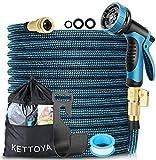 Best Expandable Hoses - KETTOYA 100FT Expandable Garden Hose, Flexible Water Hose Review