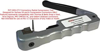 F Connector Radial Compression Tool (PCT-DRS-CT)