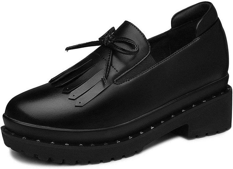 Fashion shoesbox Women Anti-Slip Sneakers Round Toe Fashion Platform Casual shoes