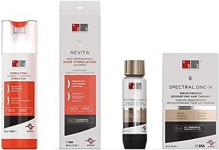 Revita Shampoo w/Biotin, Caffeine and Hair Growth Stimulating Ingredients, Helps Block DHT w/DNC-N Nanoxidil 5% Hair Growt...