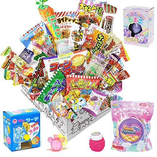 【カエルショップ オリジナル】駄菓子詰め合わせお楽しみ25点+女の子が選んだ好きなものセット!! 誕生日、イベントやパーティーにもどうぞ。