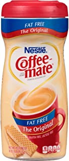 COFFEE MATE Fat Free The Original Powder Coffee Creamer 16 Oz. Canister | 12 Pack | Non-dairy, Lactose Free, Gluten Free C...