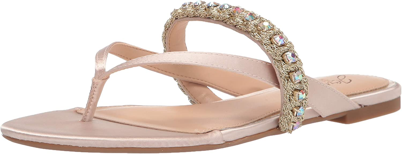 Jewel Badgley Mischka Women's Wholesale Sandal Ornamented Flip-Flop Excellence