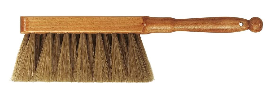 da Vinci Graphic Design Series 2486 Dusting Brush, Brown Horse Hair with Lacquered Wood Handle