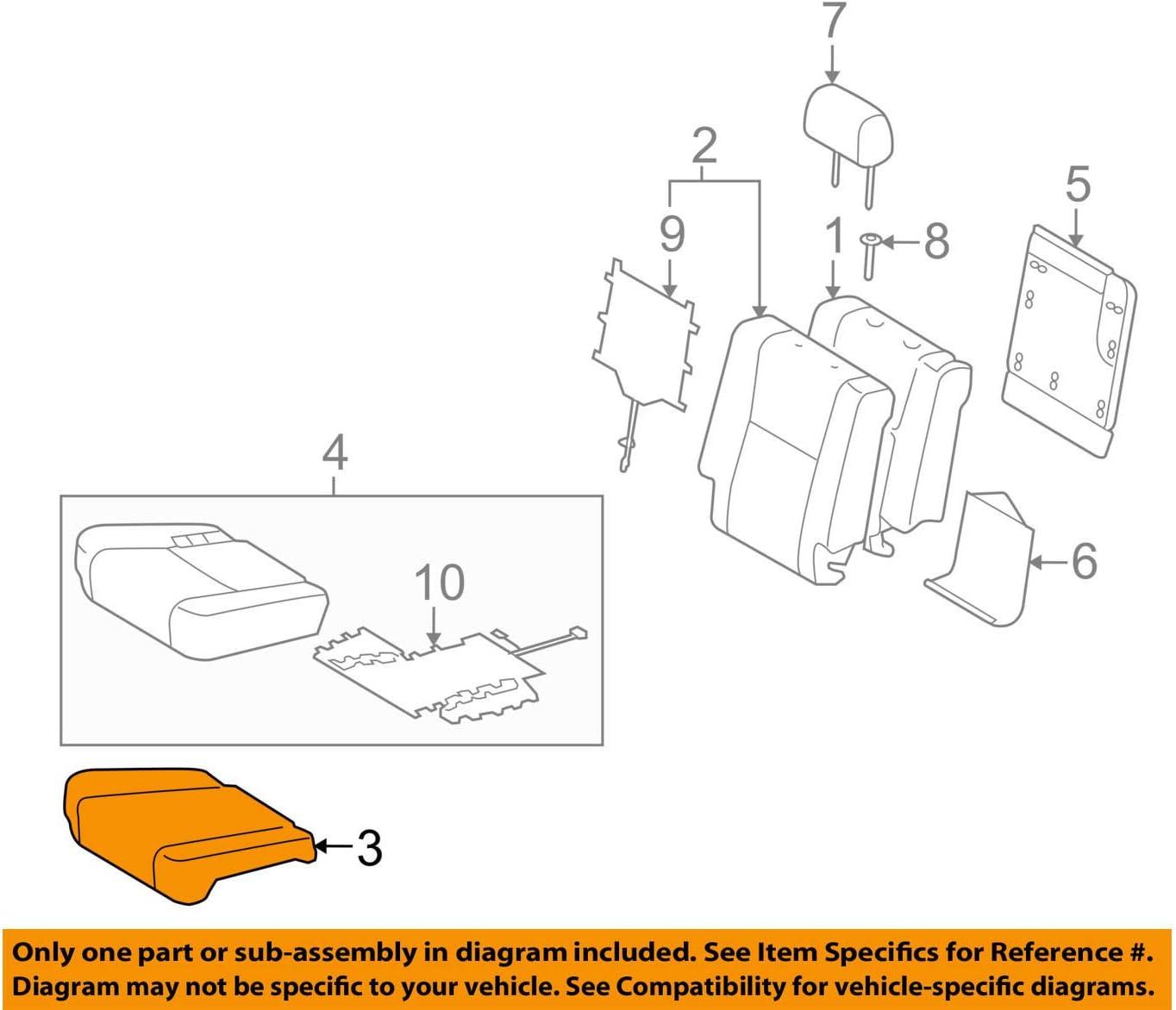 free shipping TOYOTA Genuine 71611-0C120 Pad Dealing full price reduction Seat Cushion